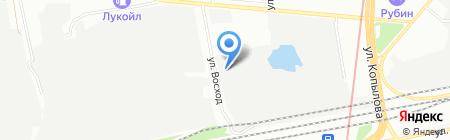 Казанский завод кованых изделий на карте Казани