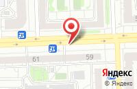 Схема проезда до компании Авант в Казани
