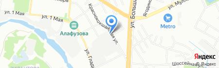 Egida+ на карте Казани