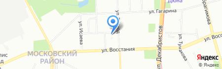Герц на карте Казани