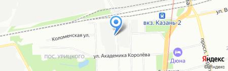 Блеск на карте Казани