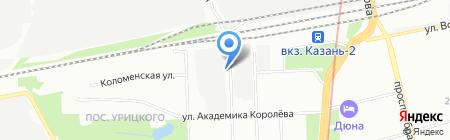 Элтех-М на карте Казани
