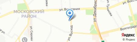 Мир кирпича Казань на карте Казани