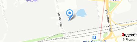 Центурион на карте Казани