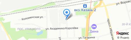 Auto-Zone на карте Казани
