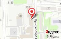 Схема проезда до компании МедиаХит в Казани
