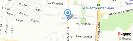 Средняя общеобразовательная школа №112 на карте Казани