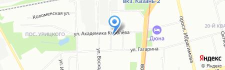 Инфовижн на карте Казани