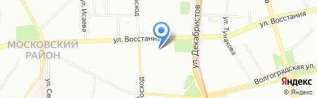 Отдел полиции №5 Московский на карте Казани