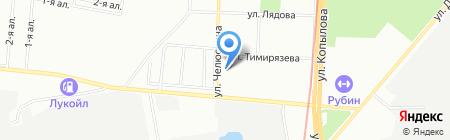 Школа-интернат №1 для детей с отклонениями в умственном развитии на карте Казани