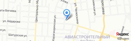 Отделение по Авиастроительному району отдела ГИБДД на карте Казани