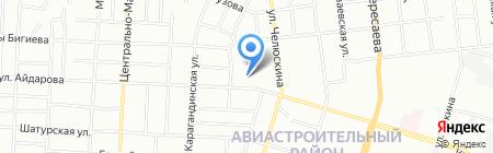Опорный пункт общественного порядка Отдел полиции №1 Авиастроительный на карте Казани