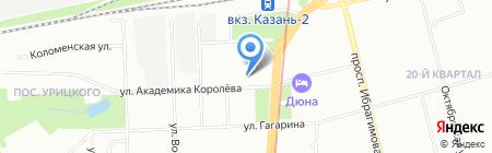 Видеосервис на карте Казани