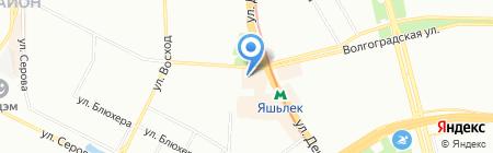 Лилия на карте Казани