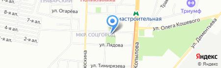 Везунчик на карте Казани