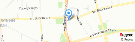 Семьянин на карте Казани