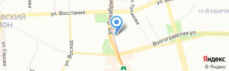 Кардинал на карте Казани