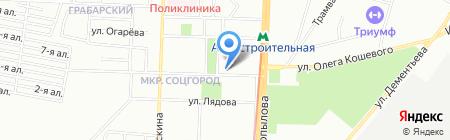 Виртуаль на карте Казани