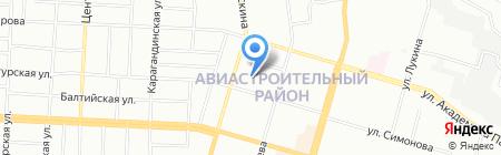 Детский сад №14 Веселая Карусель на карте Казани