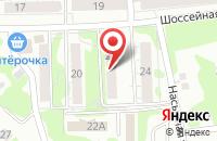 Схема проезда до компании Город 1 в Казани