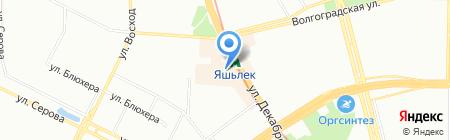 Клубочек на карте Казани