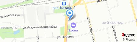 Мастердент на карте Казани