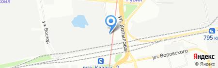 Аликон Карго на карте Казани