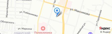 ДеГарде на карте Казани