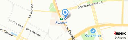Окна XXI века на карте Казани