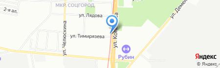 ВТС на карте Казани