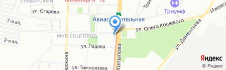 Банкомат РОСТ БАНК ОАО Казанский филиал на карте Казани