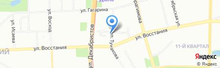 Детский сад №126 на карте Казани