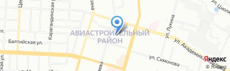 Йасин на карте Казани