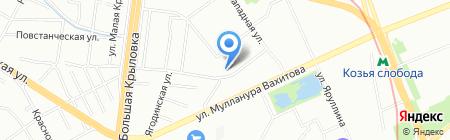 ИнтерСтиль на карте Казани