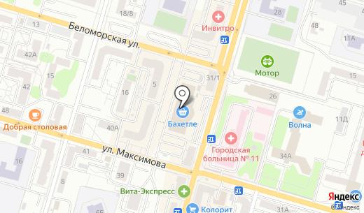Банкомат АИКБ Татфондбанк. Схема проезда в Казани