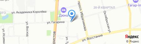 Казсипгрупп на карте Казани