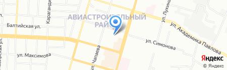 Средняя общеобразовательная школа №33 с углубленным изучением отдельных предметов на карте Казани