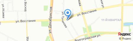 Кондвента на карте Казани