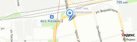 Детский сад №184 Радость на карте Казани