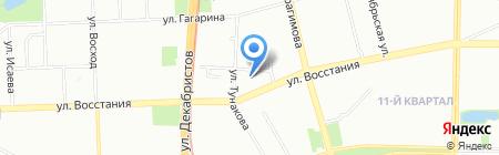 Специальная коррекционная общеобразовательная школа №61 для детей с ограниченными возможностями здоровья на карте Казани