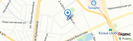 Ангел на карте Казани