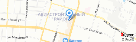 КЭТ на карте Казани