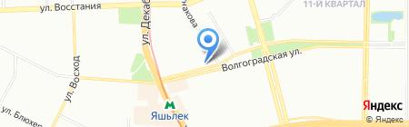 Мир потолков плюс на карте Казани