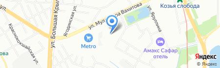 КОМПЛЕКС СТРОИТЕЛЬНЫХ ТЕХНОЛОГИЙ на карте Казани