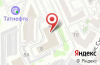 Схема проезда до компании Седьмое Небо-Медиа в Казани
