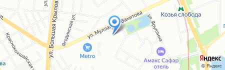 Хонал на карте Казани