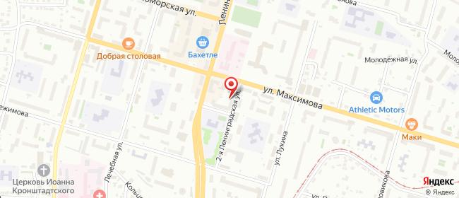 Карта расположения пункта доставки СИТИЛИНК в городе Казань