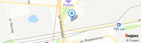 Автолайв на карте Казани