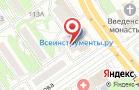 Схема проезда до компании Айсберг в Казани