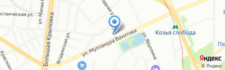 TRW на карте Казани